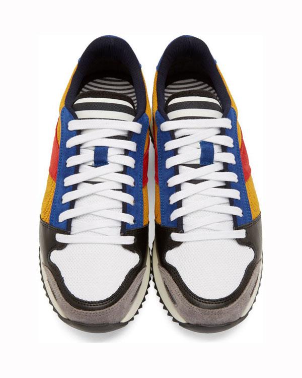 AMI Alexandre Mattiussi Paneled Sneakers 3