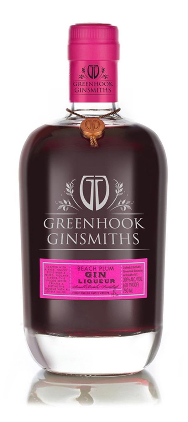 Grennhook Ginsmith Beach Plum Gin