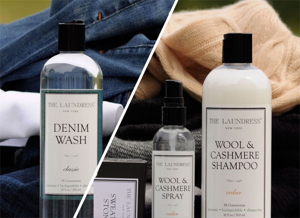 Laundress Denim Wash Wool Cashmere Set
