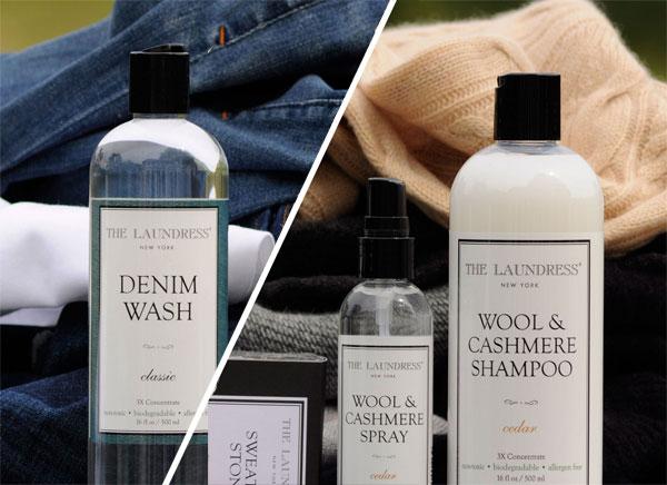 Laundress Denim Wash Wool Cashmere Set