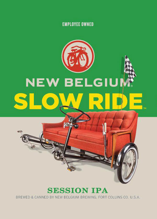 New Belgium Slow Ride Session IPA Cans