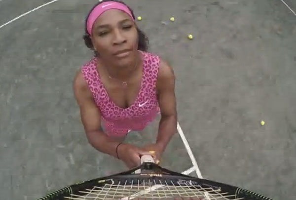 Serena Williams Vogue Video 7 11 Beyonce