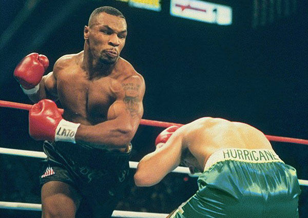 Mike Tyson Knockout Swing