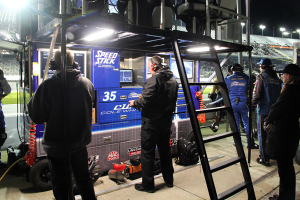 Nascar Cole Whitt Speed Stick Pit