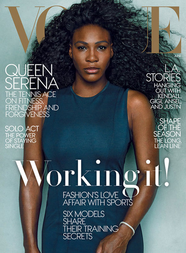 Serena Williams Vogue Cover April 2015