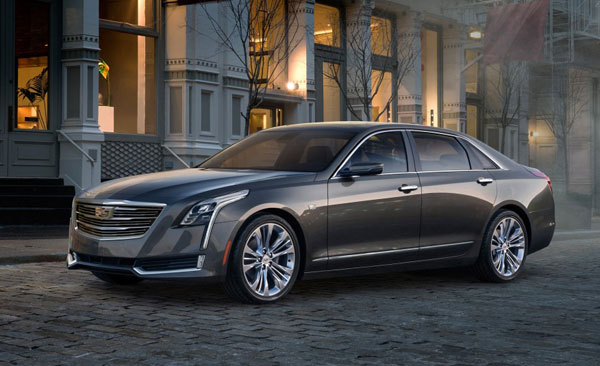 2016 Cadillac CT6 Luxury Sedan