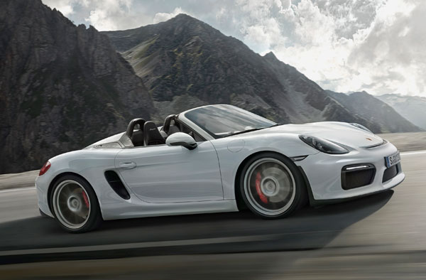 2016 Porsche Boxster Spyder Auto Show