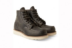 Red Wing Shoes Rubber Soled Leather Boots