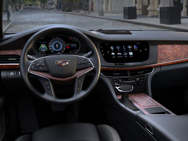 Cadillac Ct6 Interior