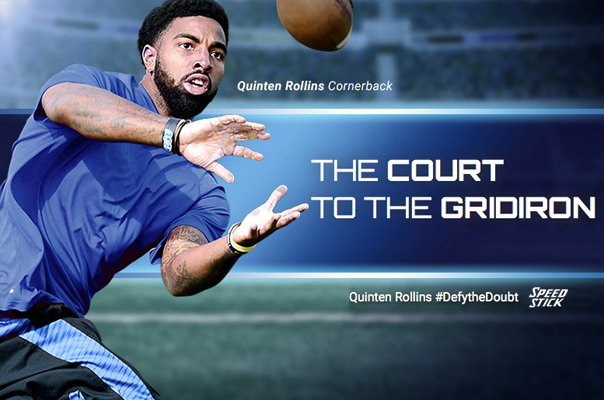 Quinten Rollins Speed Stick Defy The Doubt
