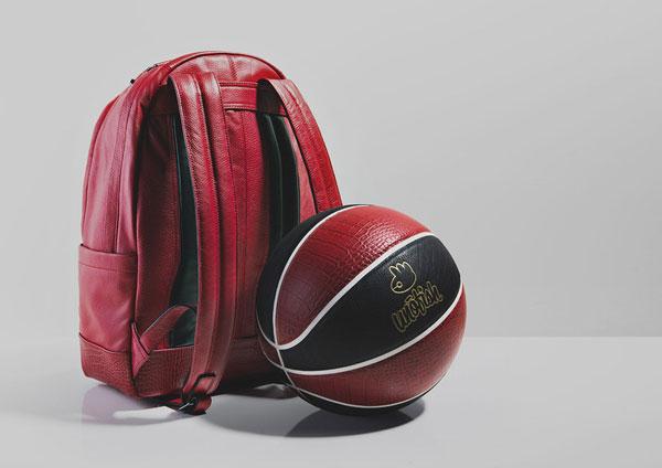 Unofish Crimson Bag Basketball