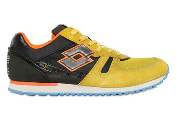 Lotto Leggenda Tokyo Suede Nylon Sneaker