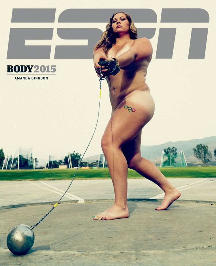 Amanda Bingson Espn Body Issue