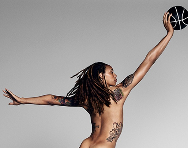 Brittney Griner Spn Body Issue