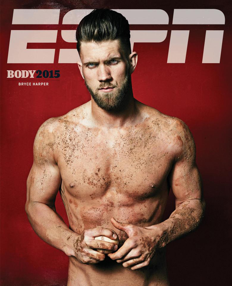 Bryce Harper Spn Body Issue
