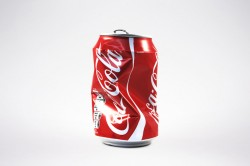 Can Of Coca Cola Coke Damaged