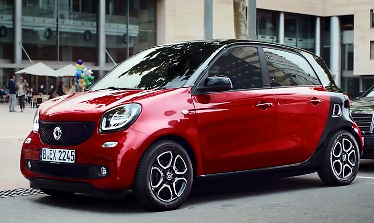 Smart Forfour Car Commercial