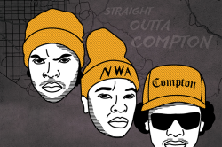 NWA Straight Out Of Compton History Of West Coast Hip Hop