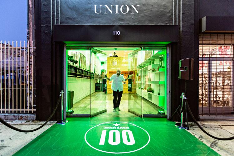 Heineken100 Blazer Chris Gibbs Union LA Heineken