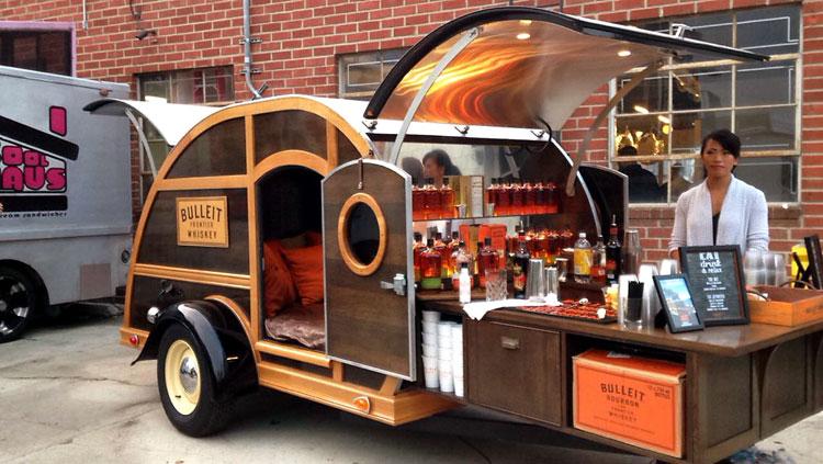 Bulleit Bourbon Coolhaus Ice Cream