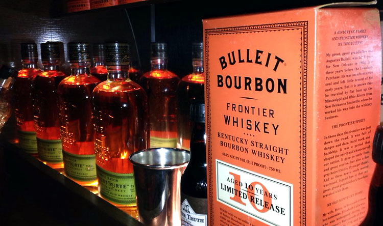 Bulleit Bourbon Woody Camper