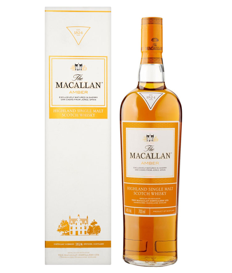 Whisky Amber Single Malt The Macallan