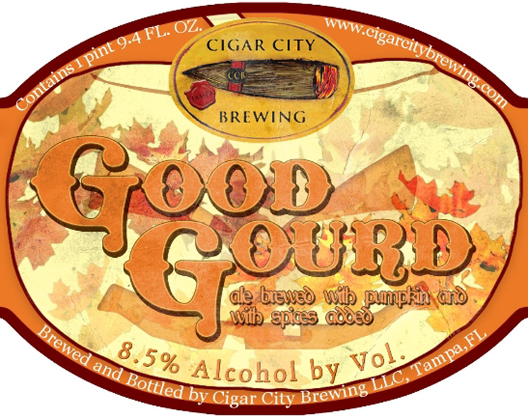 Cigar City Good Gourd Beer