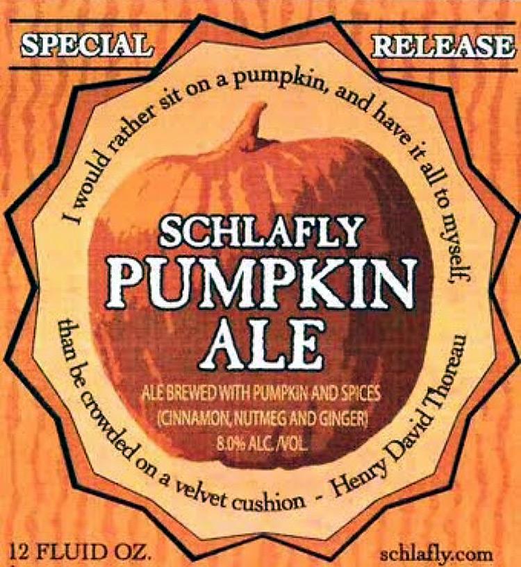 Schlafly Pumpkin Ale Beer