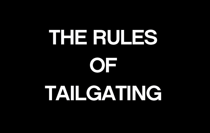 Rules Tailgating
