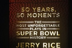 50 Years 50 Moments Jerry Rice Book