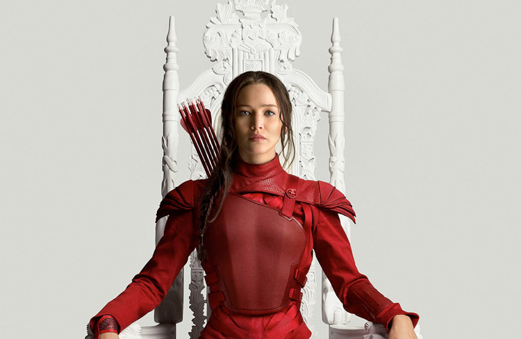 Katniss Hunger Game Mockingjay Poster