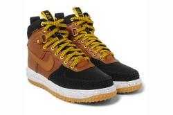 Nike Lunar Force 1 Duckboot Leather Sneakers