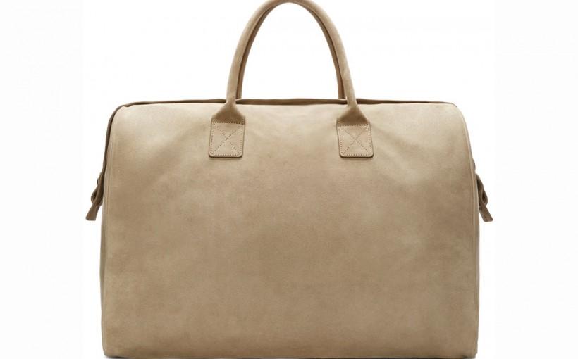 YEEZY Season 1 Khaki Suede Duffle Bag