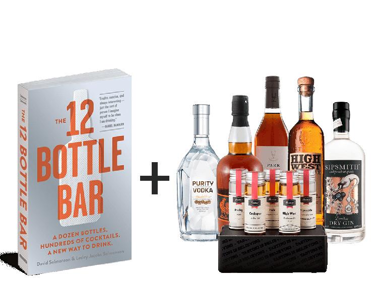 Cocktail Unveil 101 Flaviar Tasting Box