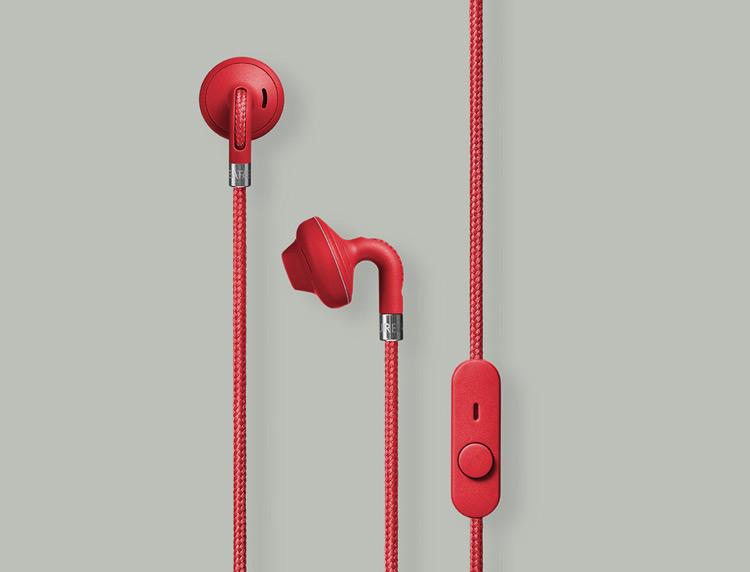 Urbanears Sumpan Earbuds Red