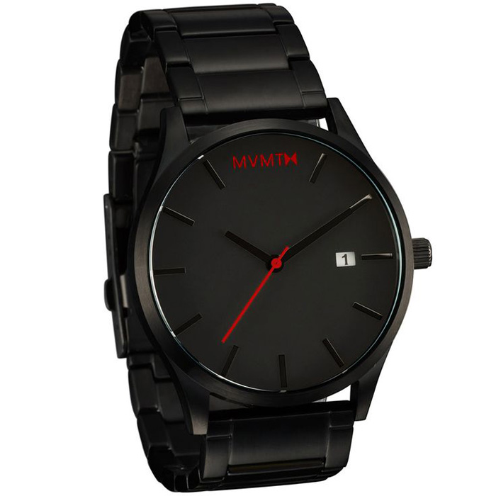 MVMT Classic Black Stainless Steel Watches