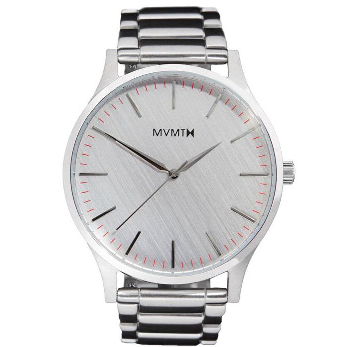 MVMT The 40 Silver Watch