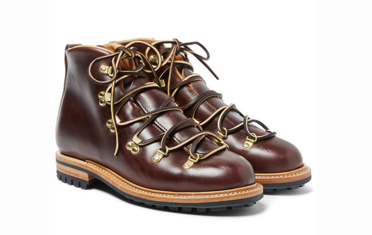 Viberg Hiker Whole Cut Leather Boots