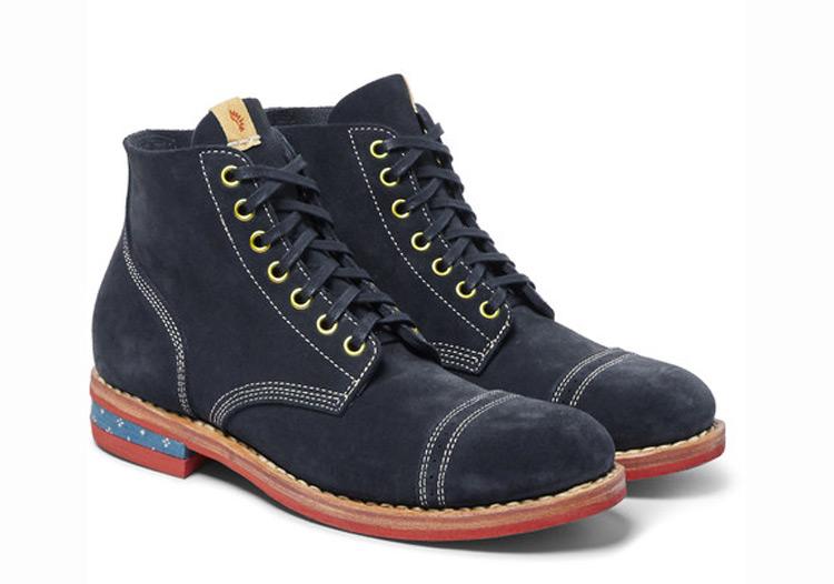 Visvim NCF Cap Suede Boots