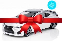 Badass Presents Lexus Remote Control Car