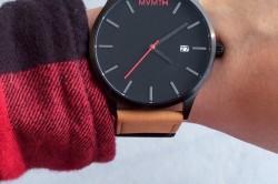 Black Tan Mvmt Watches