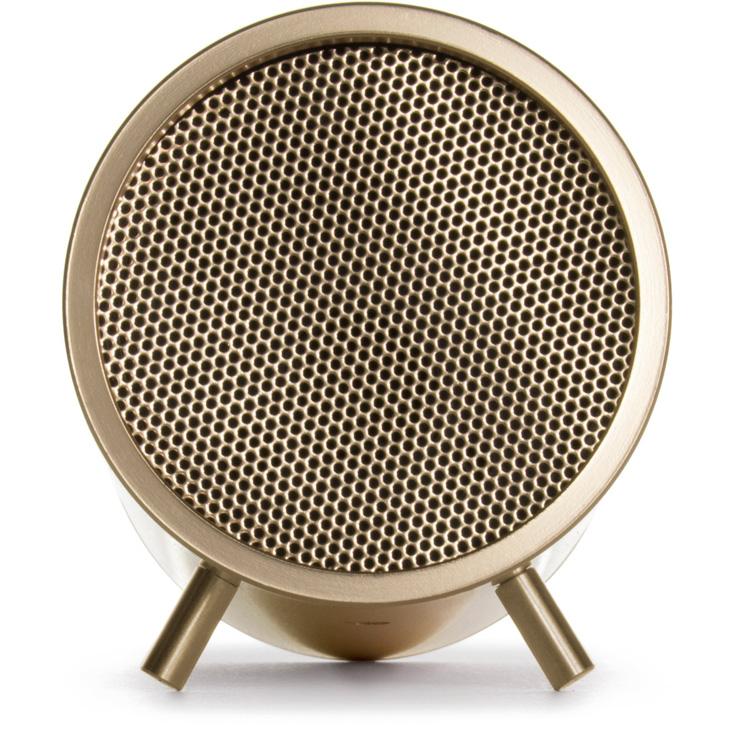 Leff Amsterdam Tube Audio Speakers Brass