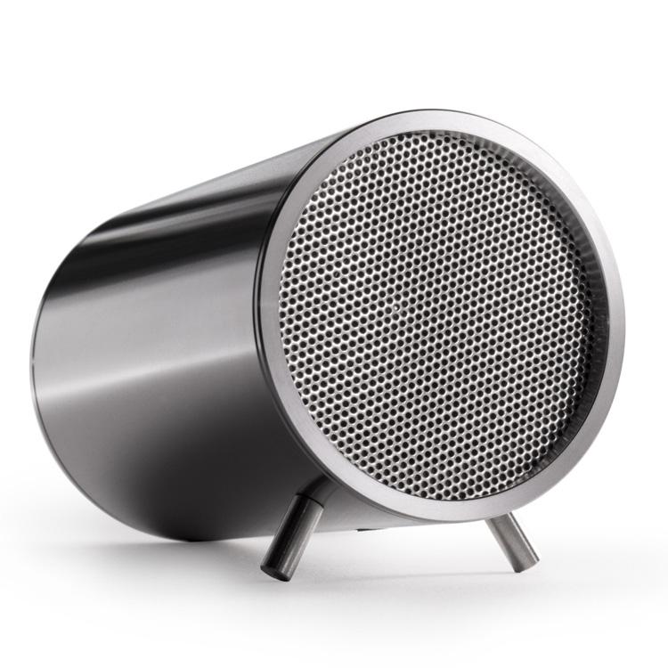 Leff Amsterdam Tube Audio Speakers Stainless Steel