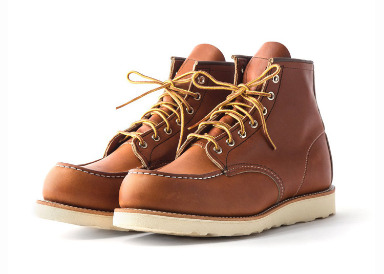 Red Wing Moc Toe Boots 1