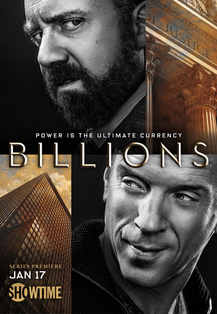Billions Showtime Poster
