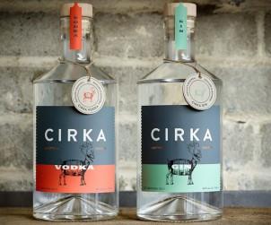 Cirka Vodka Gin