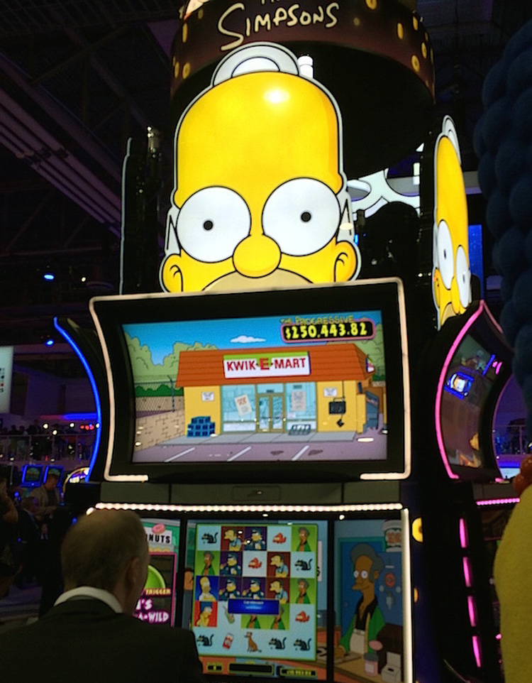 Simpsons Slot Machine