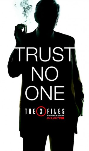 X Files Poster Smoking Man