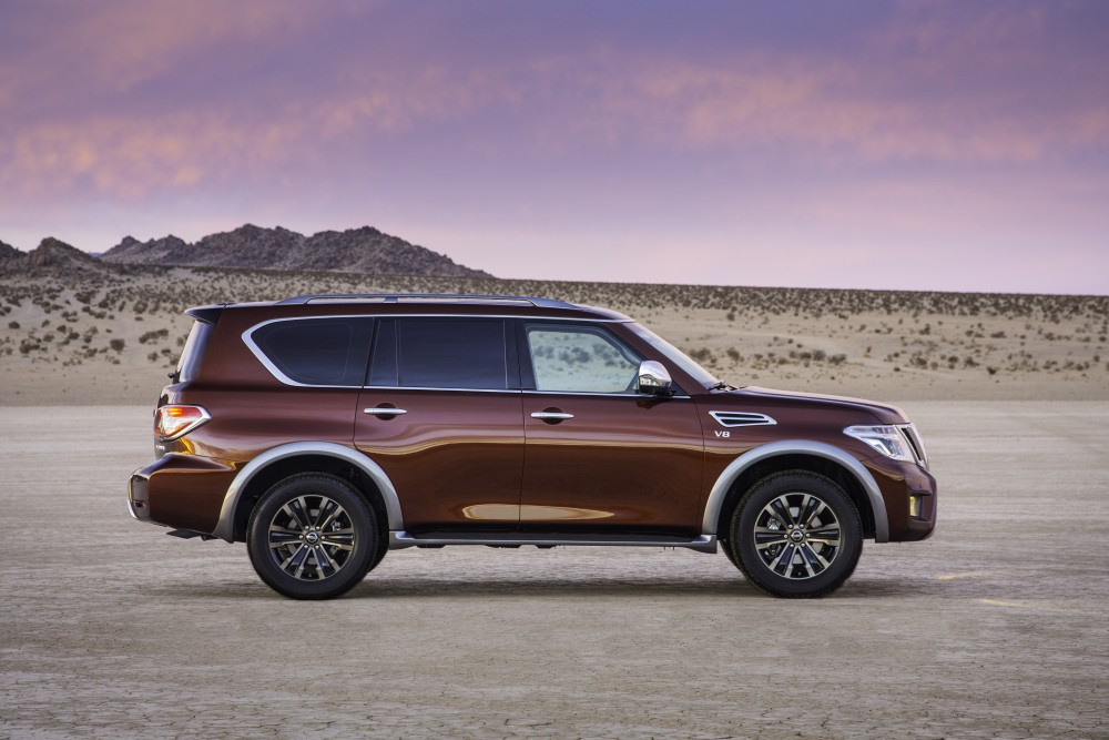 2017 Nissan Armada Configurations >> The All-New Nissan Armada Offers Full-Size Adventures