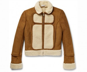 JW Anderson Panelled Shearling Jacket